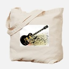 Cute Gibson les paul Tote Bag