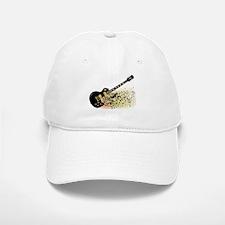Shattering Blues Guitar Baseball Baseball Cap