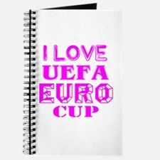 I Love Uefa Euro Cup Journal