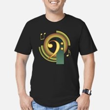 Bass Clef Deco T-Shirt