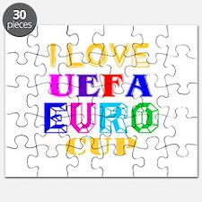 I Love Uefa Euro Cup Puzzle