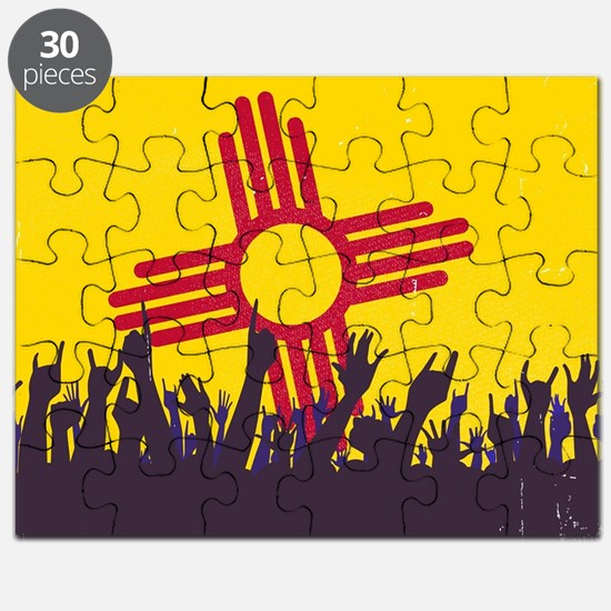 Cute New mexico white sands Puzzle