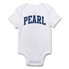 PEARL design (blue) Infant Bodysuit