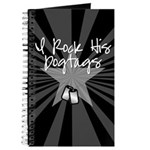 I Rock His Dogtags Journal