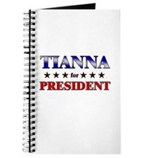 TIANNA for president Journal