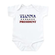 TIANNA for president Onesie