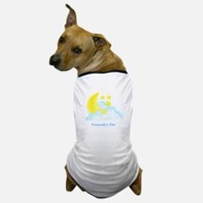 Personalized Moon and Stars Dog T-Shirt