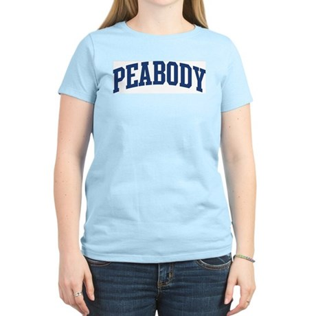 PEABODY design (blue) Women's Light T-Shirt
