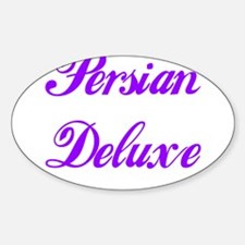 PERSIAN DELUXE Oval Decal