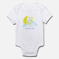 Personalized Moon and Stars Body Suit