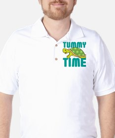 Tummy Time Baby Turtle Golf Shirt