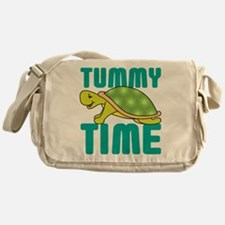 Tummy Time Baby Turtle Messenger Bag