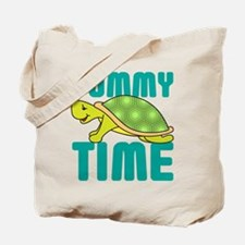 Tummy Time Baby Turtle Tote Bag