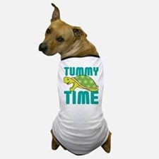Tummy Time Baby Turtle Dog T-Shirt