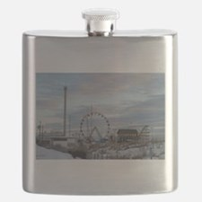 Florida Pelican Flask