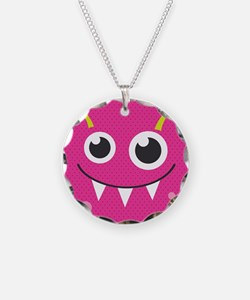 Cute Monster Necklace