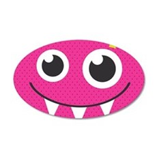 Cute Monster Wall Decal