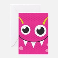 Cute Monster Greeting Cards