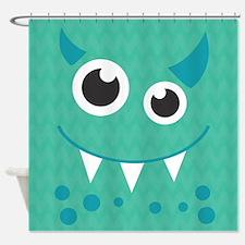 Cute Monster Shower Curtain