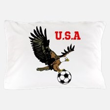SoccerEagle Pillow Case