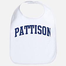 PATTISON design (blue) Bib