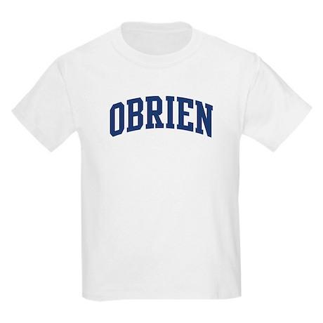 OBRIEN design (blue) Kids Light T-Shirt