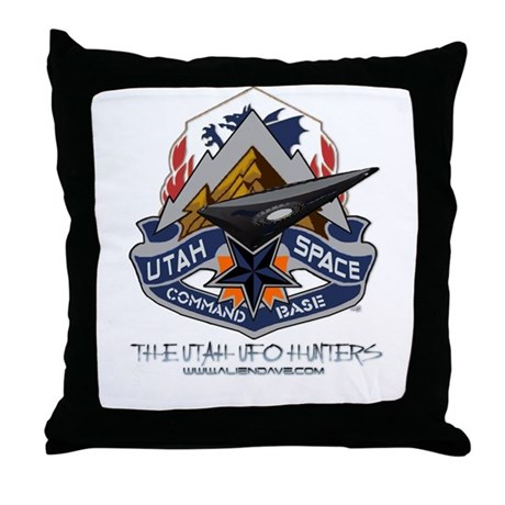 NEW! - Utah Space Command Throw Pillow