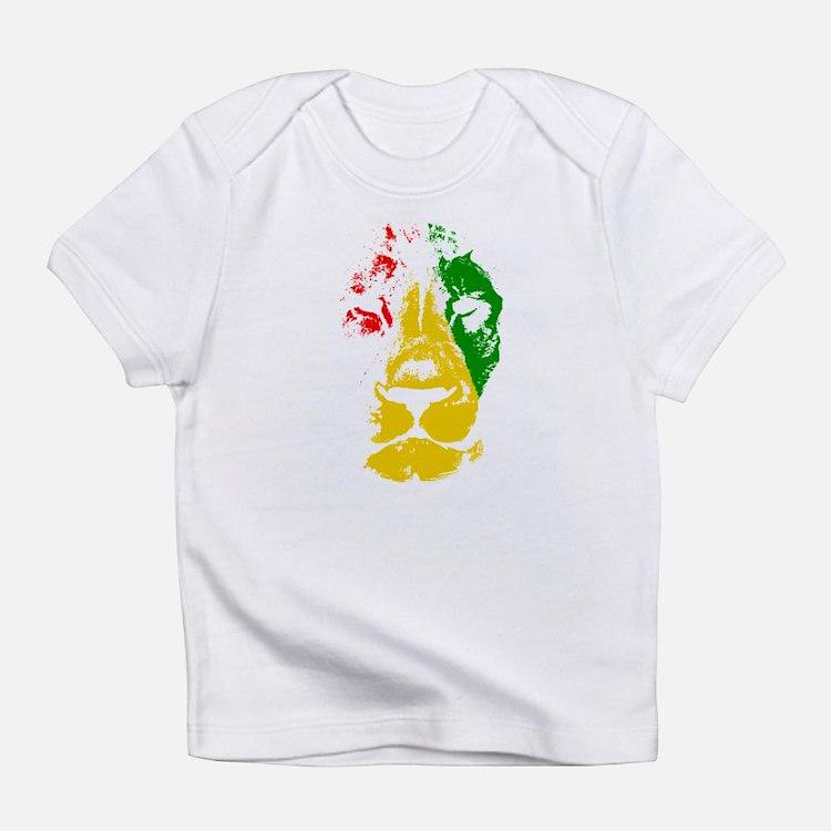 Cute Reggae rasta Infant T-Shirt