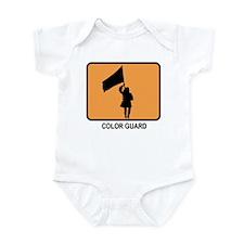 Color Guard (orange) Infant Bodysuit