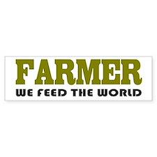 Funny Farmer Bumper Bumper Sticker