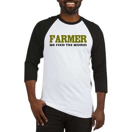 Funny Farmer Baseball Jersey