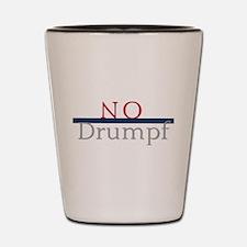 No Drumpf Shot Glass