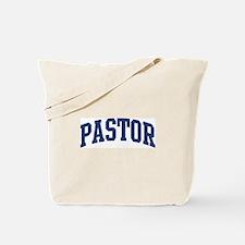 PASTOR design (blue) Tote Bag