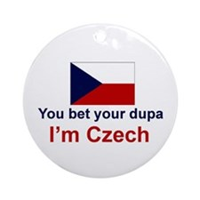 Czech-Dupa Ornament (Round)