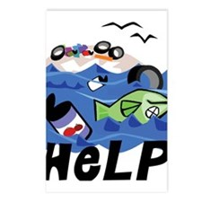 Help Save Environment Postcards (Package of 8)