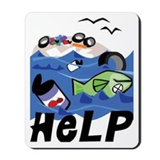 Help Save Environment Mousepad