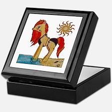 Unicorn Summer Keepsake Box