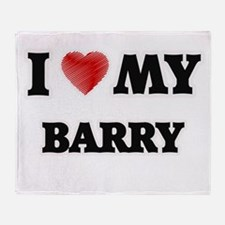 I love my Barry Throw Blanket