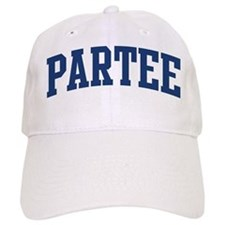 PARTEE design (blue) Baseball Cap
