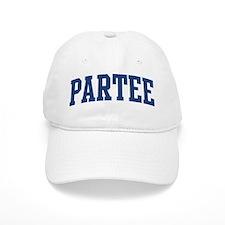 PARTEE design (blue) Baseball Cap