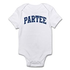 PARTEE design (blue) Infant Bodysuit