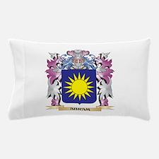 Abram Coat of Arms (Family Crest) Pillow Case