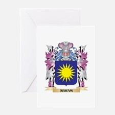 Abram Coat of Arms (Family Crest) Greeting Cards