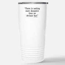 Cute Sherlock holmes Stainless Steel Travel Mug