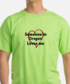 Loves me: Oregon T-Shirt