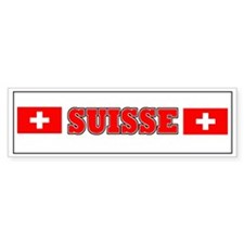 Switzerland stickers Bumper Bumper Sticker