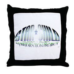 Star Child Throw Pillow