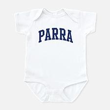 PARRA design (blue) Infant Bodysuit