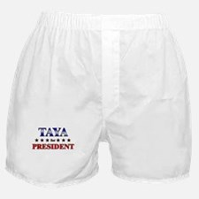 TAYA for president Boxer Shorts