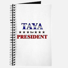 TAYA for president Journal